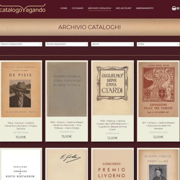 Sito web per Catalogo Testi Antichi